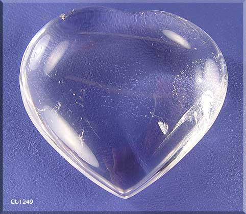 clear crystal heart - photo #22