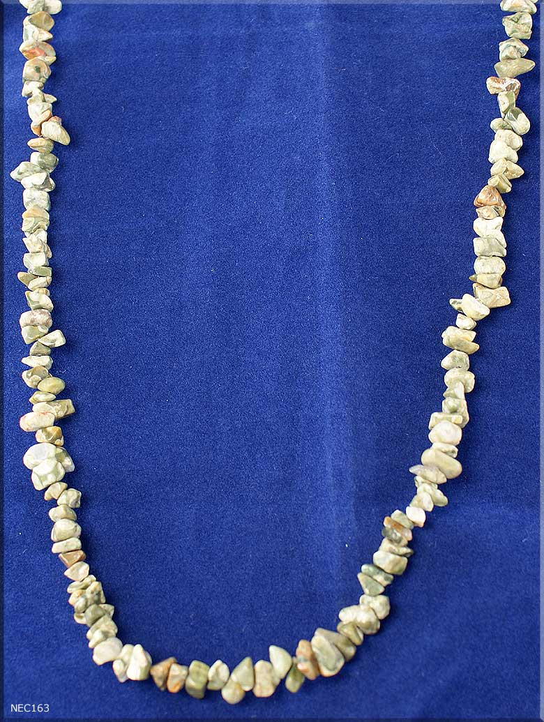 Agate Slices Become Gemstone Necklaces